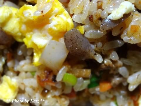 ザーサイこんにゃく炒飯 (2)