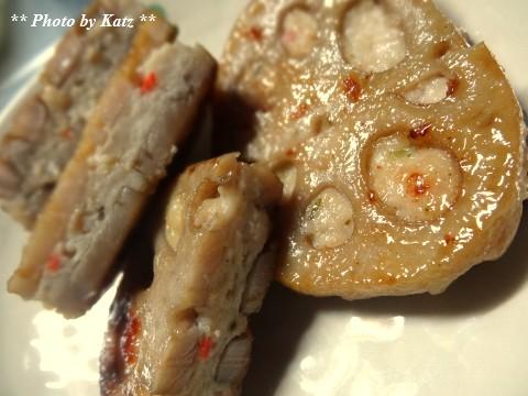 レンコン肉はさみ焼き