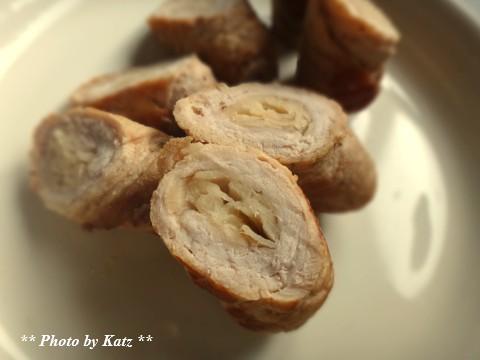 甘酢しょうがの肉巻き (1)