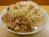 DSC04217中華そば 卍20070715ト醤油並700円&野菜Wまし200円縮小版