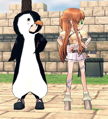 ペンギンと戦闘用制服