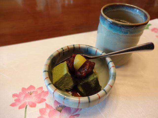 翠州亭 水菓子