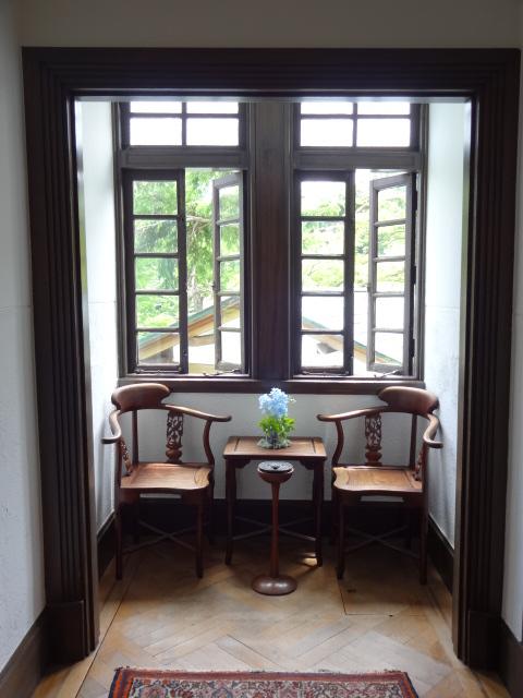 旧閑院宮別邸 2階廊下