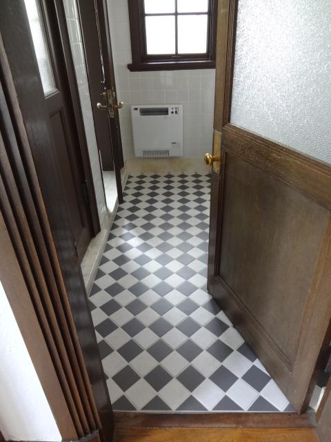 旧閑院宮別邸 1階トイレ
