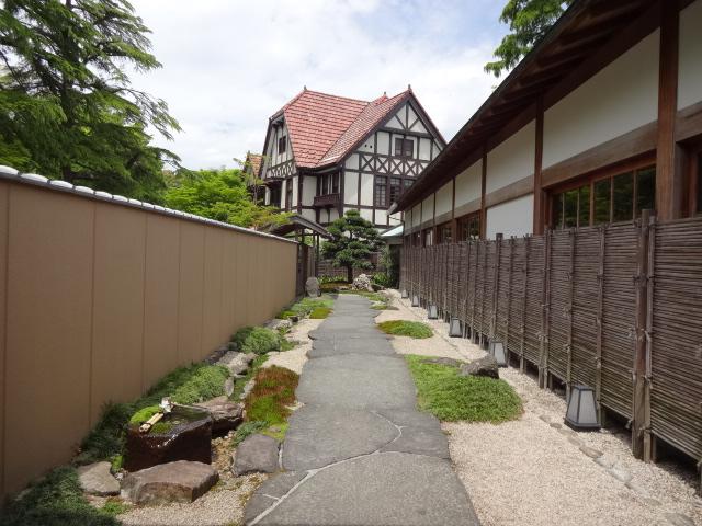 旧閑院宮別邸 強羅花壇からの眺め