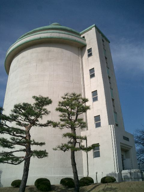 栗山配水塔