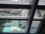 マンダリン38階から日本銀行と常盤橋を見下ろして