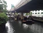 工事中の常盤橋