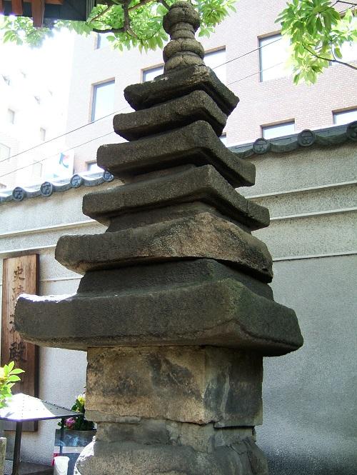 太融寺の淀君墓