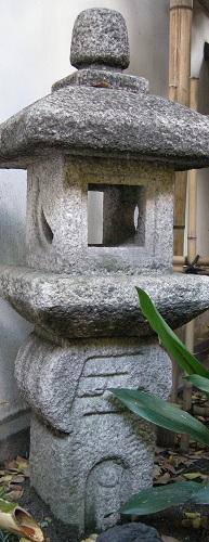 切支丹灯篭(開口神社)