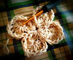 20140717 Bavarian Crochet 途中
