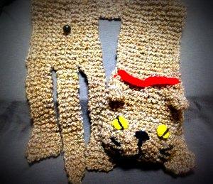 20140908 ねこのえり巻き cat scarf