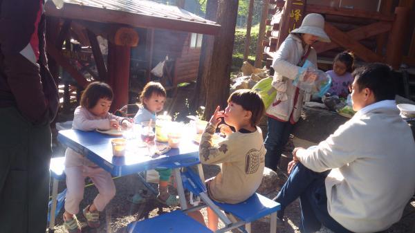 キャンプ朝ごはん2