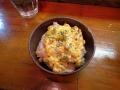 いつ樹の鶏チャーシューご飯タルタルのせ140428