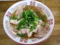 㐂九家の昔ながらの無化調葱チャーシュー麺140525