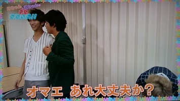 20140806少クラ楽屋訪問塚濱 (11)