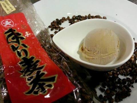 手炒り極上麦茶のジェラート