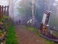 「雲取山荘」へ到着 今日の歩き ラストフィニッシュ