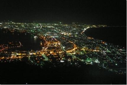 サン函館山から夜景[4]