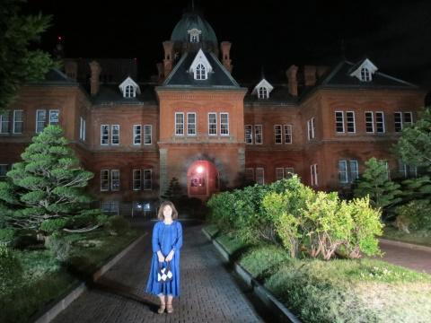 北海道庁と札幌国際芸術祭