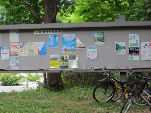 モエレ沼公園と北海道大学