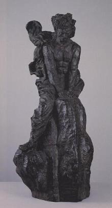 041 エミール=アントワーヌ・ブールデル「風の中のベートーヴェン」
