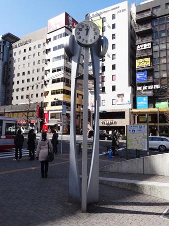 恵比寿駅西口の時計