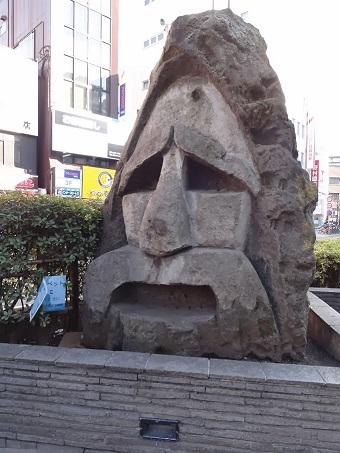 蒲田モヤイ像