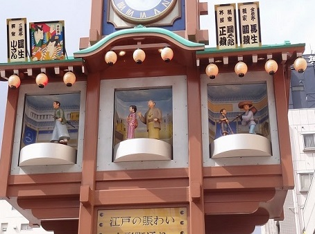 人形町からくり櫓時計2