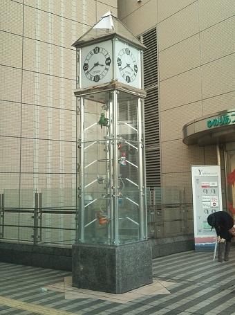 大泉学園駅前の時計1