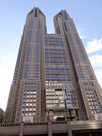 東京都庁展望室1