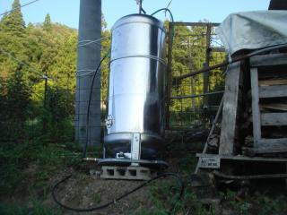貯水タンク設置