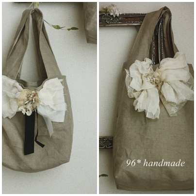 fuwafuwa ribbon bag
