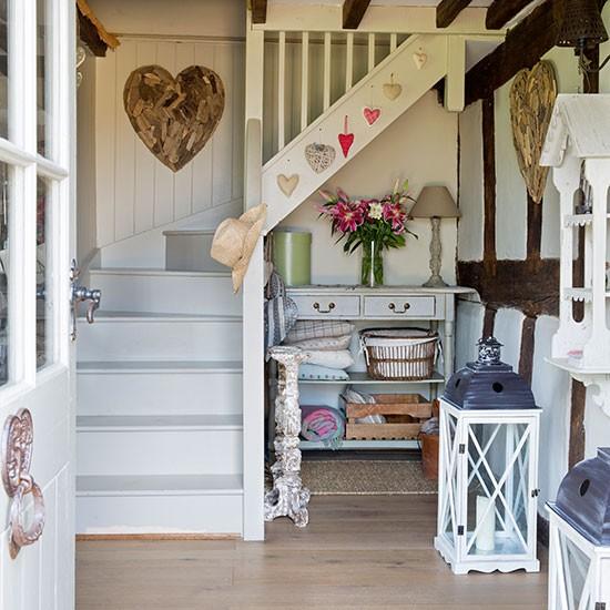 Beamed-White-Hallway-25-Beautiful-Homes-Housetohome.jpg