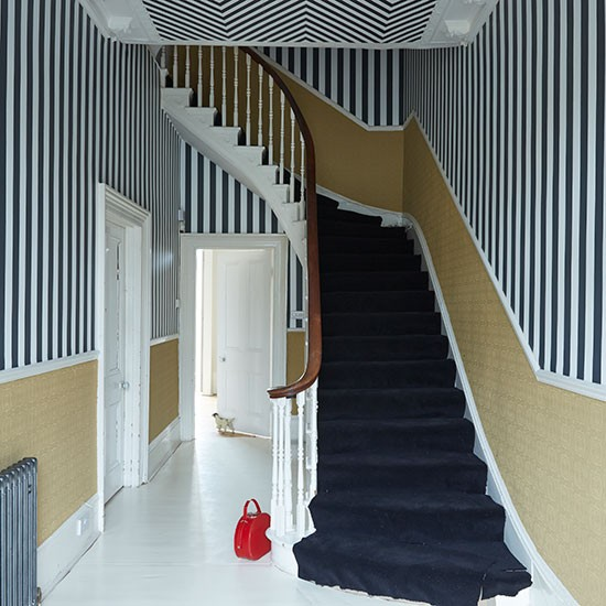 Black-and-White-Striped-Hallway-Livingetc-Housetohome.jpg