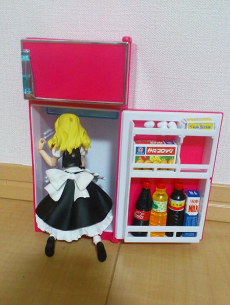 冷蔵庫まりさ