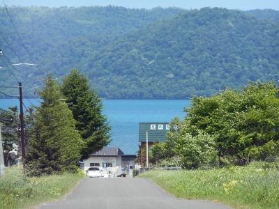 7月9日の屈斜路湖