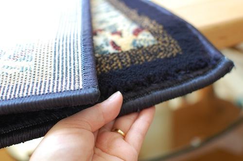 ラブラドールなトルコ絨毯玄関マット4