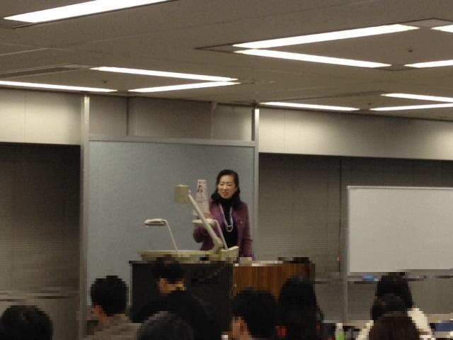 海野禎子講師 140324書士直前イベント