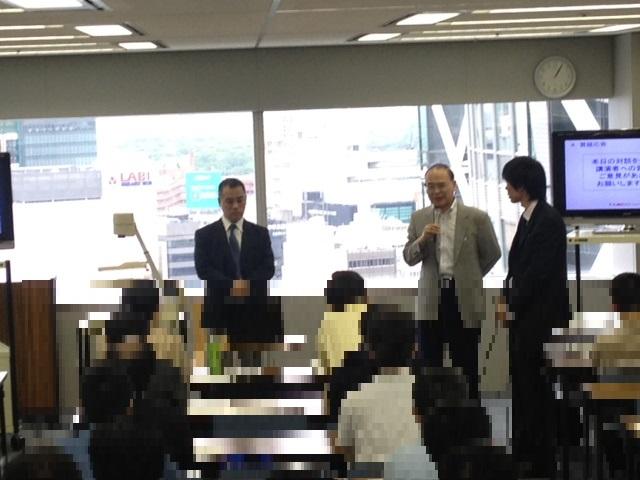 大田原博亮講師&反町勝夫対談1