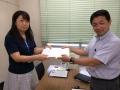 2014年8月8日NPO申請書提出②