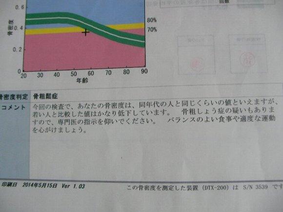 20140515骨密度測定結果⑥