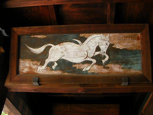 20140620石切白馬絵馬①