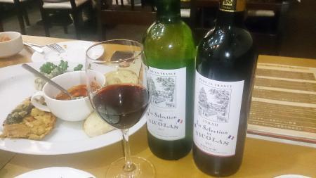 ワインが美味しかった!