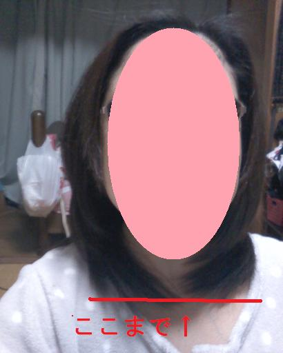 髪の毛カット後 003
