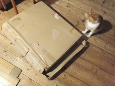 使い古した箱