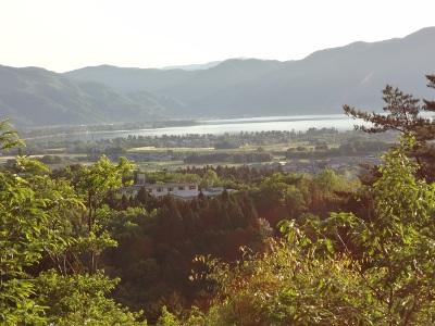 琵琶湖が・・