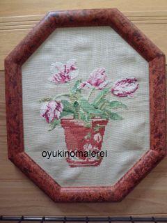 チューリップ刺繍2014.7.12