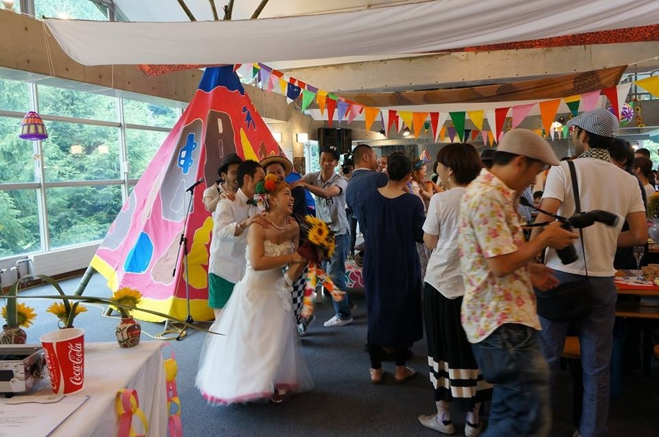 おかみき結婚パーティー1