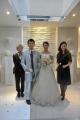 結婚式二人と北村さん